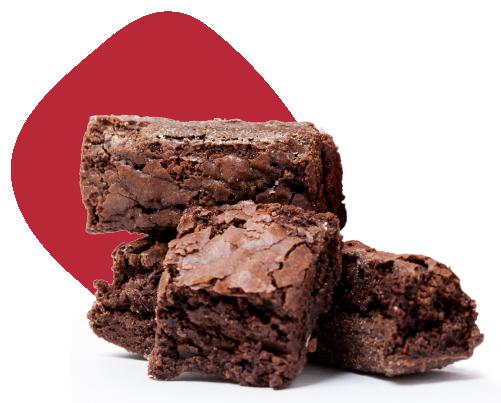 brownie do luiz: veneno da lata 200g casquinhas crocantes de brownie, ou bordinhas como muitos conhecem